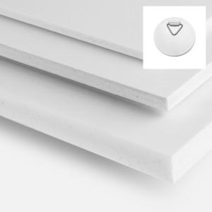Forex (PVC) - 2 platines adhésives de Fixation -